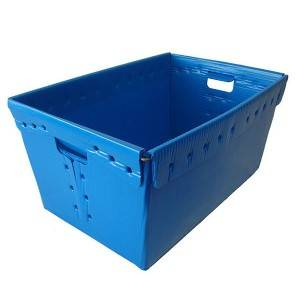 Discountable price Plastic Collapsible Bins - pp corrugated box for express – Sihai