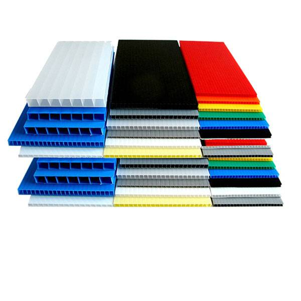 OEM/ODM Supplier Pp Corflute Floor Protect Board - pp hollow sheet, pp corrugated sheet – Sihai