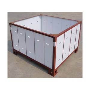pp corrugated storage cage