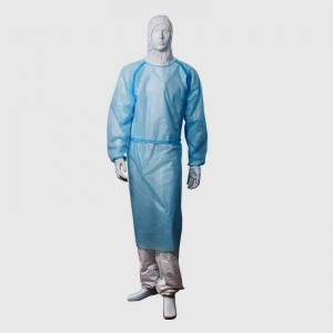 OEM Customized Disposable Sms Surgical Gown - Isolation clothing level 2 – qiangwei