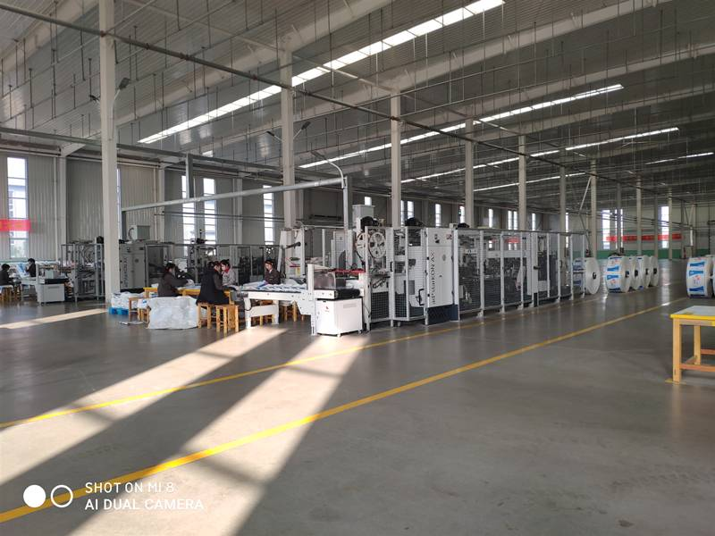 The third factory already has stable Customers, square bottom valve Bags