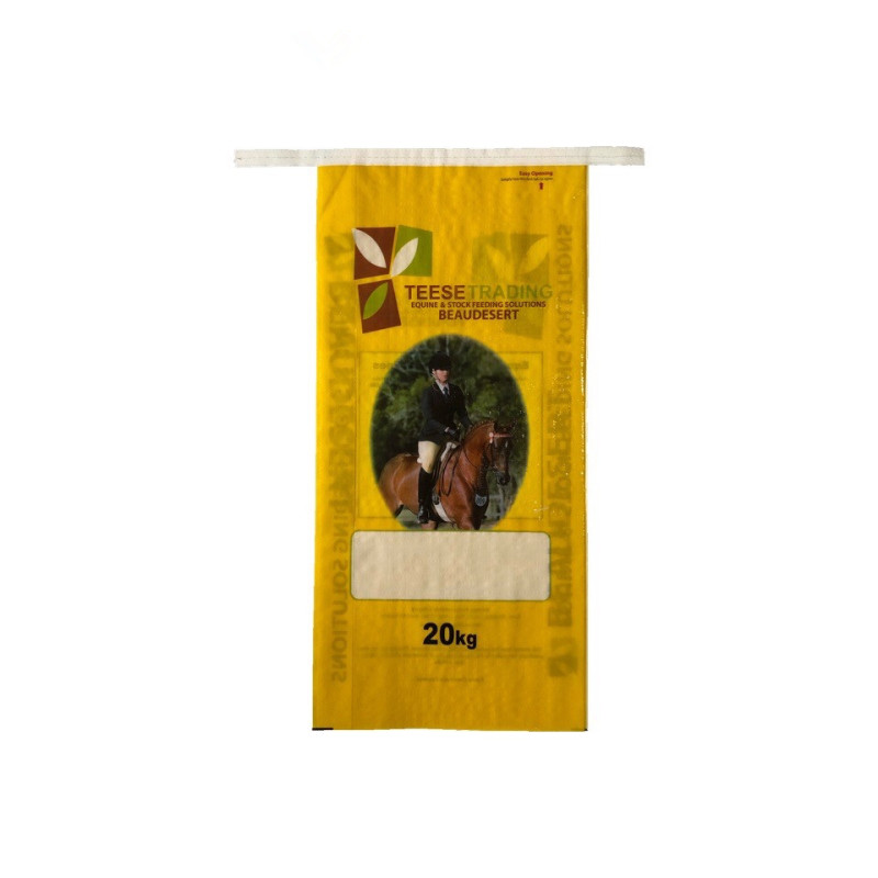 PP Materials Animal Feed Bags For Sale