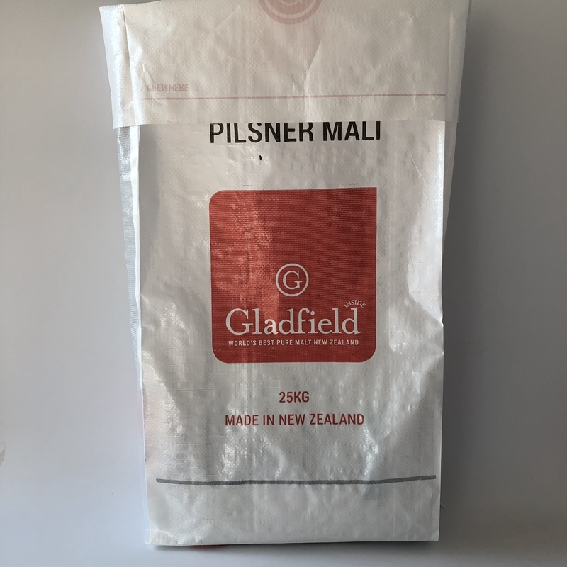 25Kg Block Bottom PP Woven Bag For Malt