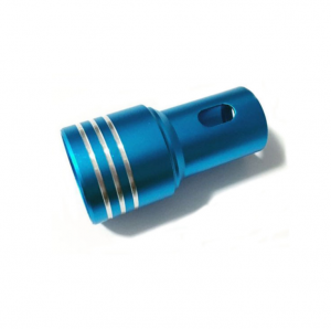 Custom Aluminium Hot Die Forging Parts With Colorful Anodized Surface For Aerospace And Medical Field