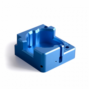 Custom Aluminium CNC Machining Part With Blue or Other Colors Anodized Surface