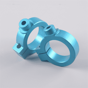 High-performance Aluminium Hot Die Forging Bicycle Parts With Colorful Anodized Surface