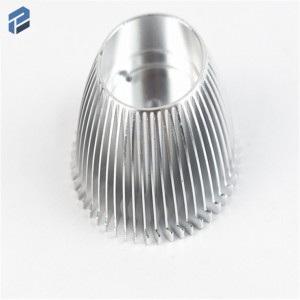China Die Casting ADC12 Aluminum Auto Lamp CNC Aluminum parts