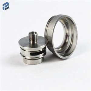 CNC Lathe Machining Stainless Steel Parts With Mirror Surface And High Precision