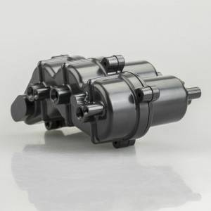 Custom High Performance Plastic Motor Housing By Plastic Injection Molding Processing