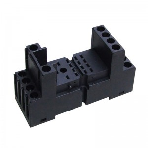 Custom Black ABS Or POM Plastic Parts By Plastic Injection Molding Processing For Electronic