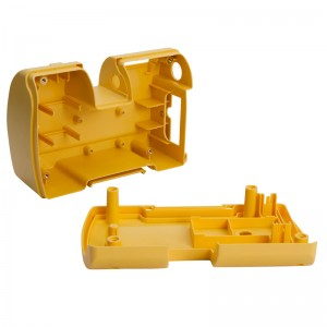Custom Yellow ABS Plastic Casing By Plastic Injection Molding Processing