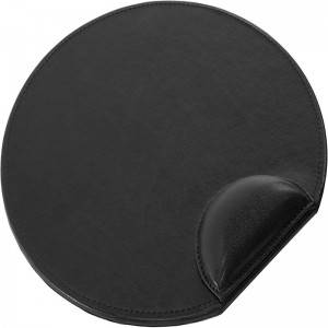 Fuax Leather Office Mouse Pad Black Color