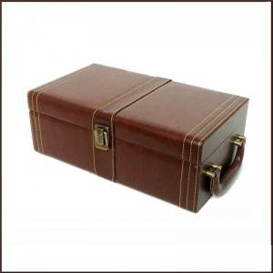 Leather Wine Box with Tools – Personalize...
