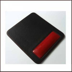 China Factory Wholesale Leather Mouse Pad