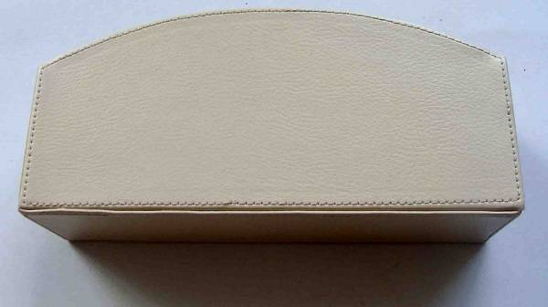 leather office accessories home decoration leather packing box