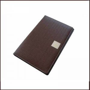 Cheapest Price Home Storage Set - Pu Leather Restaurant Bill Folder China Factory – King Lion