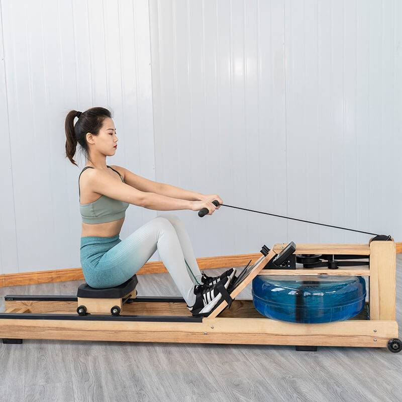 Upright water rower