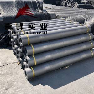 RP Graphite Electrode used for ARC furnace and Ladle furnace