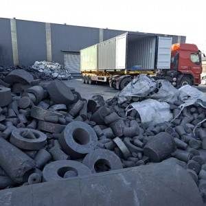 high purity fixed carbon 99% synthetic graphite scrap