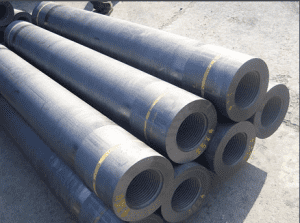 500-700mm RP Graphite Electrode for Smeting Industries on sale