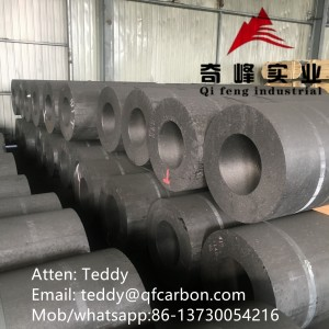 Factory supplied China UHP Graphite Electrode and Nipple with 100% Needle Coke