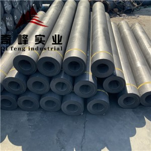 UHP300-800mm Graphite Electrodes Used in EAF smelting/LF refining during steelmaking production