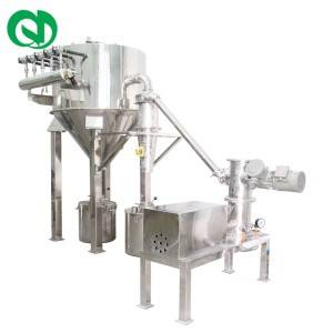 GMP FDA Fluidized-bed Jet Mill