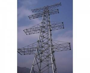 Reasonable price Short Power Tower - Electric angle steel tower – Qiangli