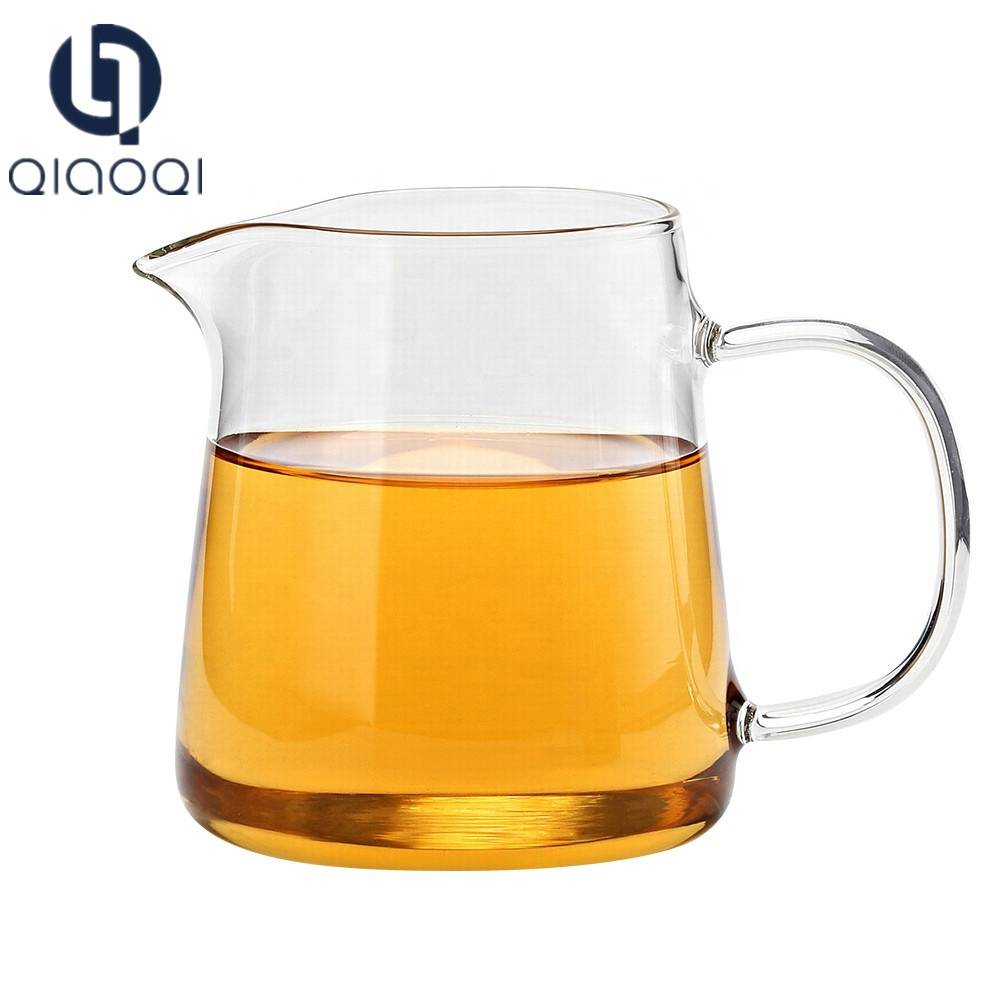 Food grade Heat Resistant The fair Mug glass tea cup