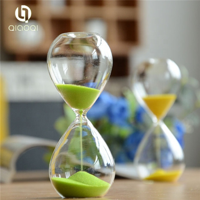 Wholesale 30 mins hourglass timer with wooden base engrave LOGO free of charge
