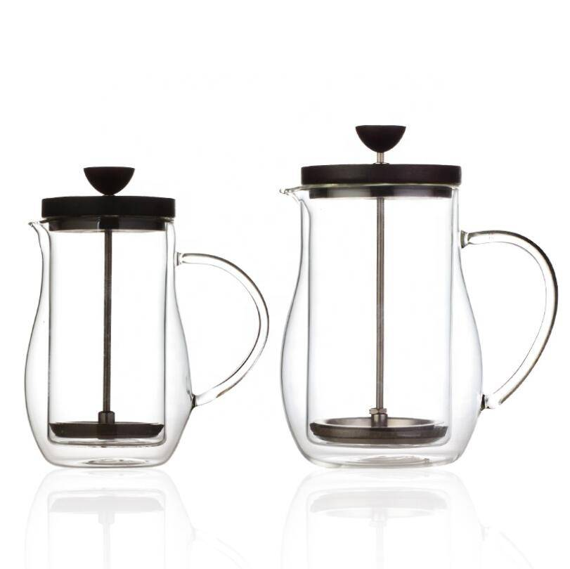 Hot sales high borosilicate french press coffee maker