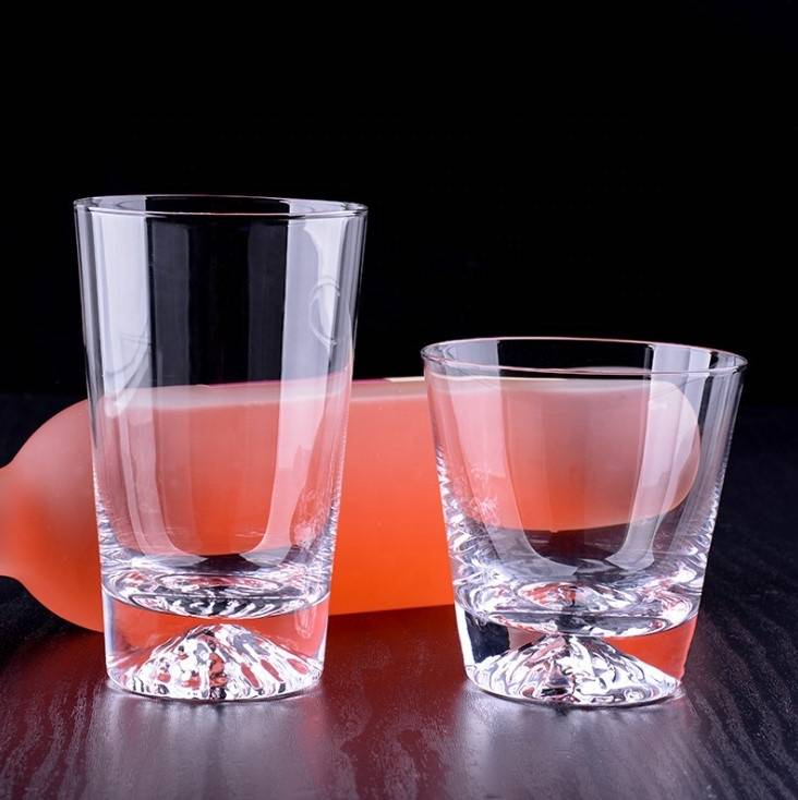 Hot sales  handmade high borosilicate glass Heat resistant glass tea cup