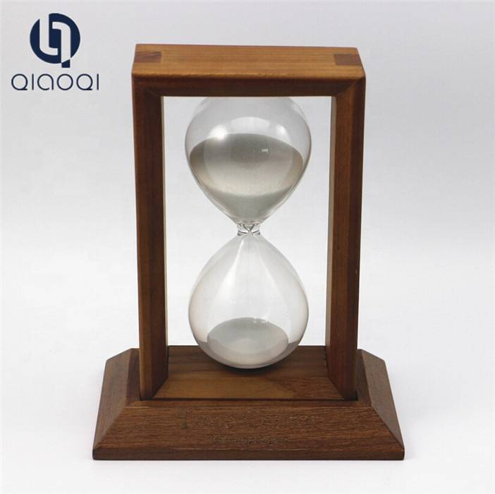 Quality Inspection for Large Glass Tea Cup - 15 minutes Wooden Hourglasses Sand Timer Factory – Qiaoqi