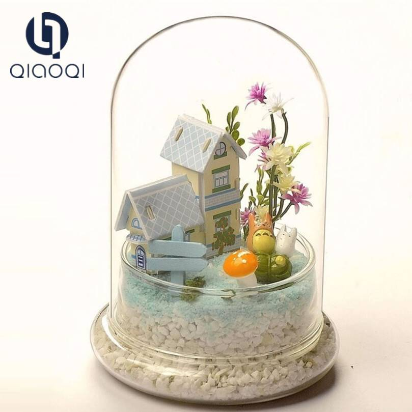 Hot Sell Most Popular small glass dome with colorful base