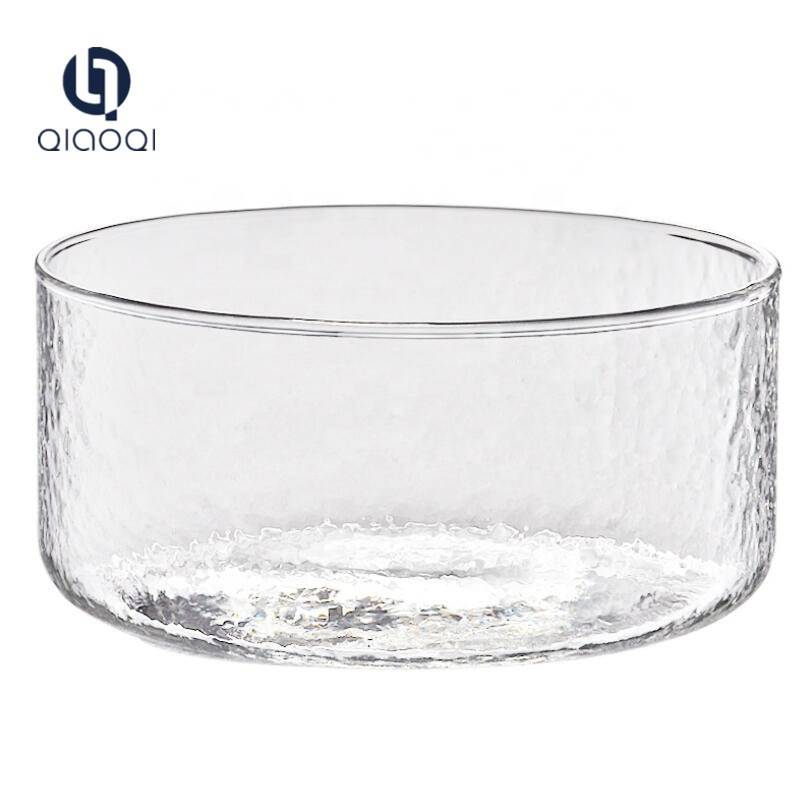 Factory making Double Wall Party Cup - cheap wash basin glass salad bowl – Qiaoqi