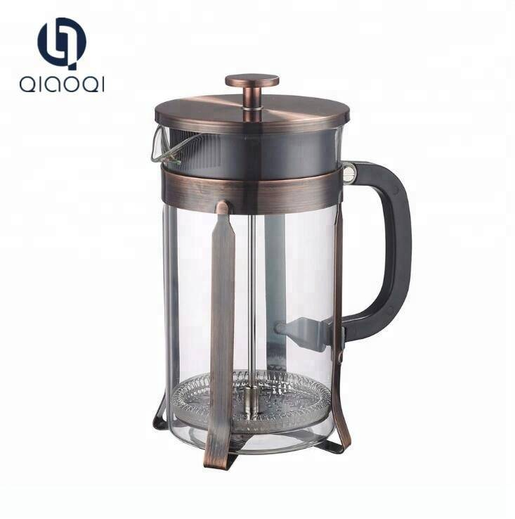 Amazon Hot Sale 600ML Borosilicate Glass with French press
