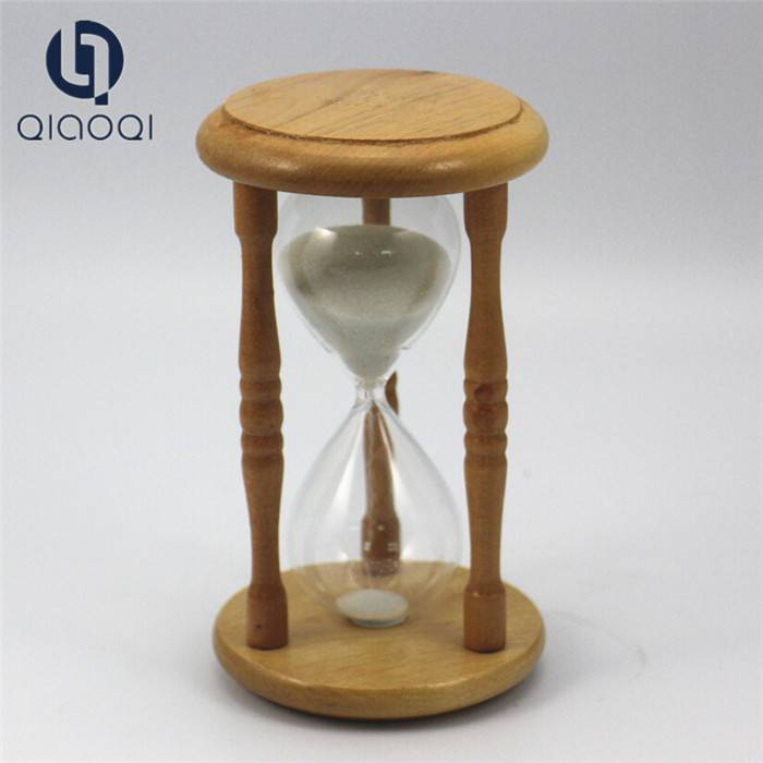 solid wooden frame glass sand timer / Cheap Custom Unique Big Hourglass