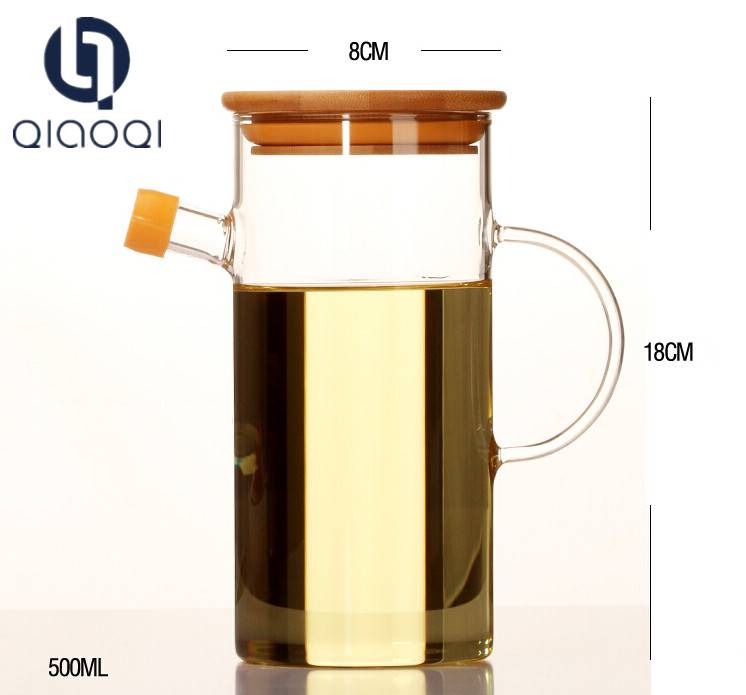 OEM/ODM Supplier Glass And Decanter - For Christmas&Birthday Gift/Present Various Market oil and vinegar dispenser in one – Qiaoqi