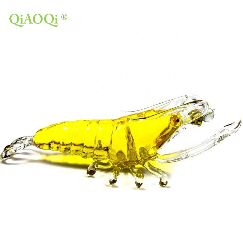 QiAOQi the latest design wholesale lobster shape glass wine bottle 500ml