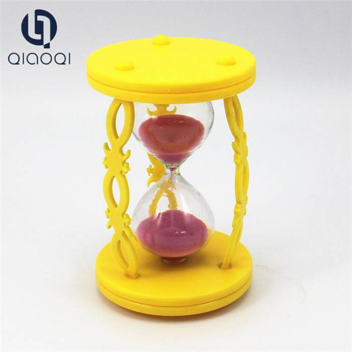 Promotional kids sand timer & hourglass for kids wash hands save time and water