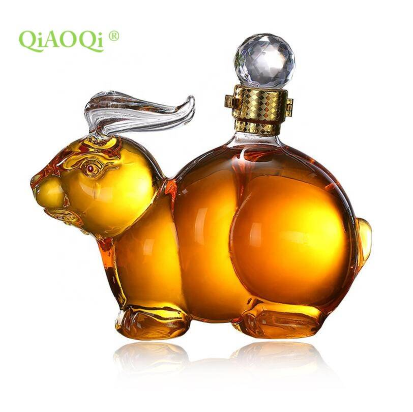 Vodka tequila wine whisky glass bottle in fashion style