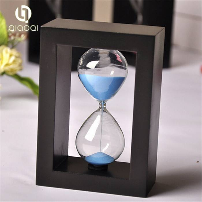 3 5 minute promotional hourglass