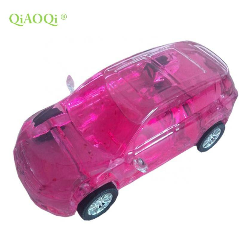 QiAOQi Unique shape high quality car glass bottle 500ml
