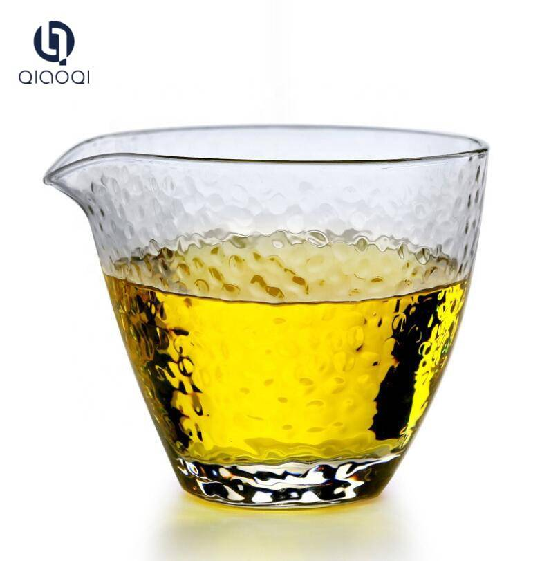 Wholesale Bulk Borosilicate Food grade Heat Resistant The fair Mug Glass Tea Cup Mini Glass Beer Mug