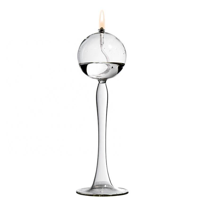 New style 2020 high borosilicste glass home candle holder set Glass Candlestick