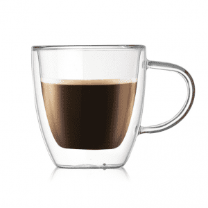 Glass Coffee Mug 80-450ml Clear Double Wall Insulated Thermal Tea Cup Double Glass Coffee Cup