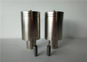 Short Lead Time for Ultrasonic Transducer Materials - Advanced 20Khz 3300w Ultrasonic Welding Replacement CJ20 Transducer with Metal Steel Outer Cover – Qianrong