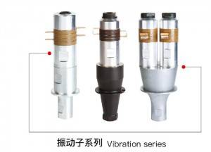 20Khz 1500w Ultrasonic Welding Transducer with Steel Booster Vibration System