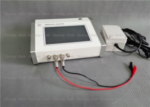 Full Touch Screen Ultrasonic Component Analyzer with Quality Testing Parameters