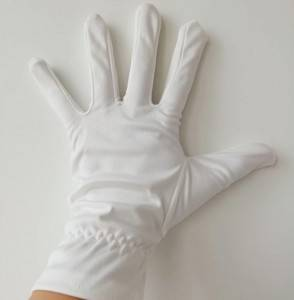Microfiber polyester working gloves